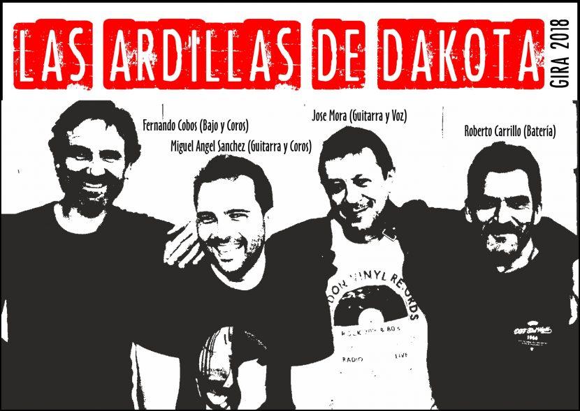 LA ARDILLAS DE DAKOTA, GIRA 2018